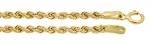 Złoty łańcuszek 585 splot wirówka