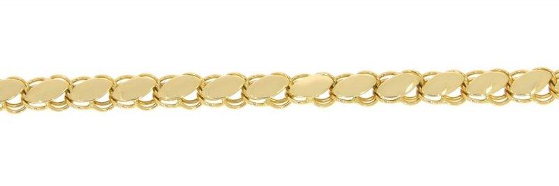 Złota bransoletka 585 pojedyncza