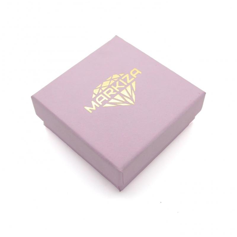 Złocony napis mama - naszyjnik dla Mamy - srebro 925 + 14k złoto
