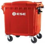 Pojemnik na odpady bytowe MGB 1100 FL ( czerwony )