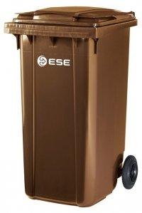 Pojemnik na odpady MGB 240l ESE (brązowy)