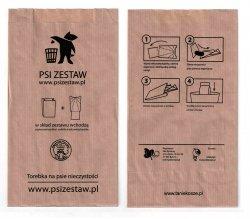 Torebki na Psie odchody ( psiZestaw.pl ) 500 szt. - konfekcjonowane