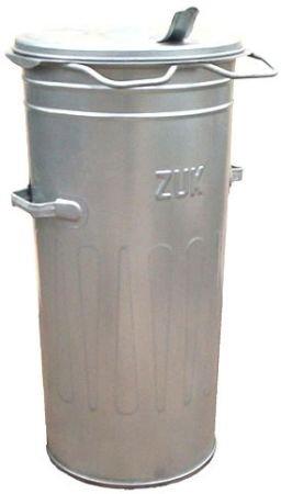 Metalowy pojemnik SM 110 litrów ( bez kół ) - ocynkowane ogniowo