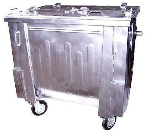 Pojemnik SM 1100 klapa w klapie (ocynk) - malowany proszkowo