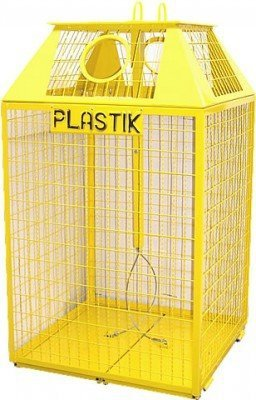 Siatkowy pojemnik do segregacji PD-Ks 1300L - 3500L
