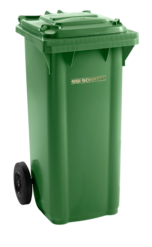 Pojemnik na odpady 120l SSI-Schaefer Zielony