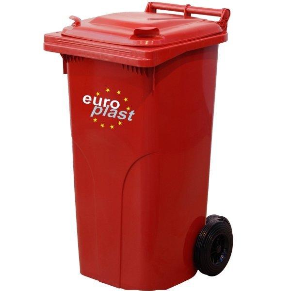 Kontener na odpady MGB 120l EUROPLAST