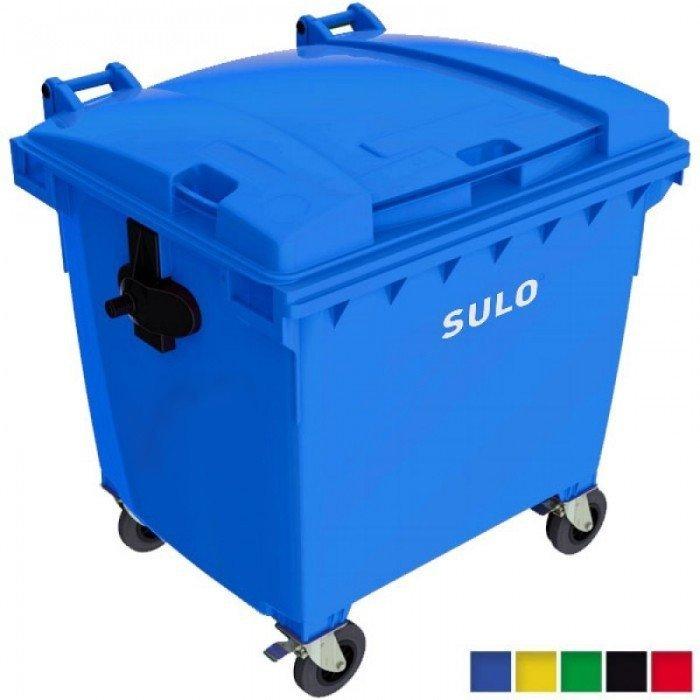 Pojemnik na odpady SULO 1100l Zielony