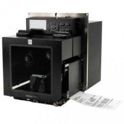 Zebra ZE500-4, 8 punktów / mm (203 dpi) ZPLII, multi-IF, serwer druku (Ethernet) Wersja lewa