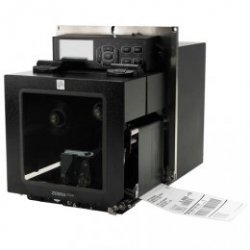 Zebra ZE500-6, 8 pkt / mm (203 dpi) ZPLII, multi-IF, serwer druku (ethernet) Wersja lewa
