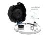 Kamera IP kopułkowa, 2 Mpx, IK10, 3.0-10.5mm, zmotoryzowany obiektyw AVIZIO PRO