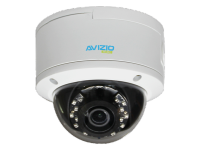 Kamera IP kopułkowa, 4 Mpx, IK10, 2.8-12mm AVIZIO BASIC