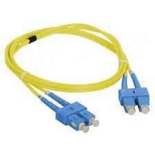 Patch cord SC/UPC-SC/UPC duplex SM 2.0m