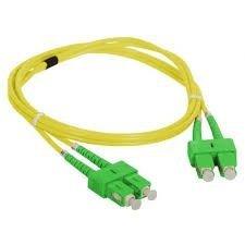 Patch cord SC/APC-SC/APC duplex SM 5.0m
