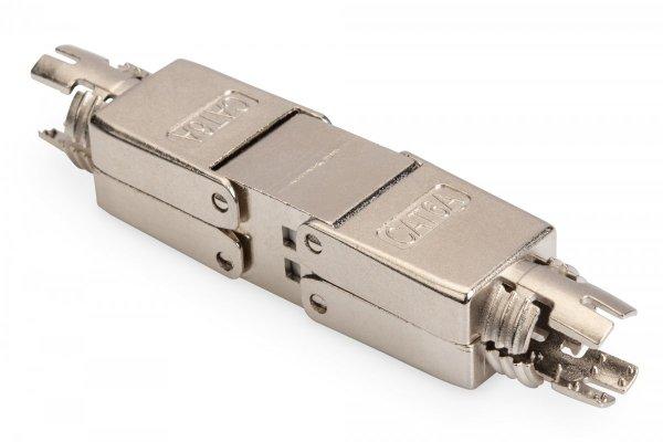 Łącznik STP kat.6A beznarzędziowy, skręcany 500MHz