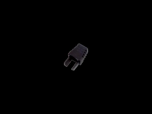 Osłonki wtyku RJ45 czarna wewnętrzna