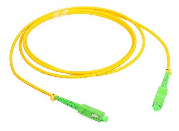 Patch cord SC/APC-SC/APC simplex SM 2m