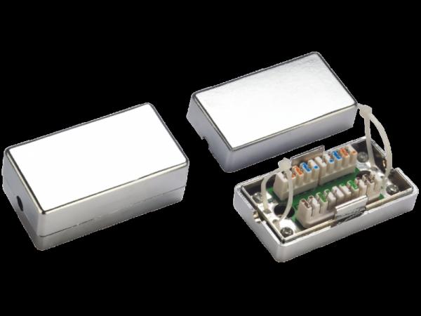 Łącznik BOX LSA-LSA FTP kat.5e T-Line