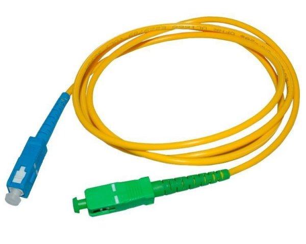 Patch cord SC/APC-SC/UPC simplex SM 2m