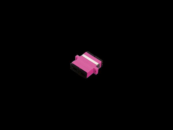 Adapter MM SC OM4 duplex