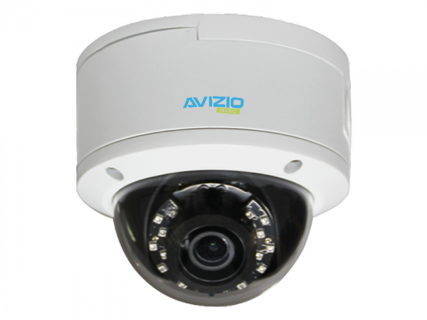 Kamera IP kopułkowa, 4K, IK10, 5mm AVIZIO BASIC