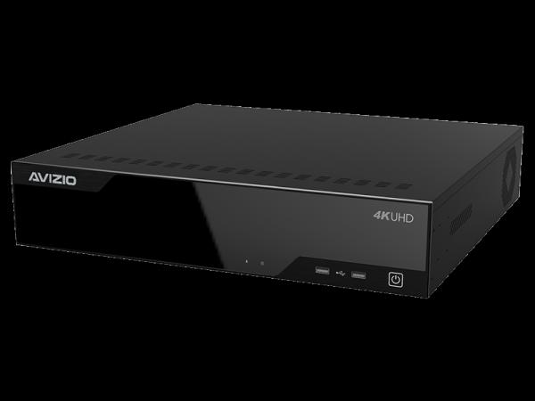 Rejestrator IP 32 kanałowy, obsługujący 8 dysków AVIZIO PROFESSIONAL