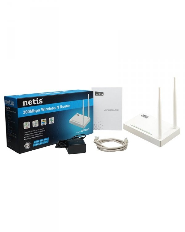 NETIS WF2419E Bezprzewodowy router standard N 300Mbps 2.4GHz 802.11bgn