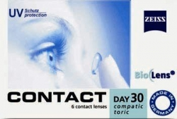 Zeiss Contact Day 30 Compatic Toric 6szt.