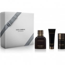 Zestaw Dolce & Gabbana Pour Homme Intenso EdP 125 ml + Shower Gel 50 ml + Deodorant Stick 75 ml