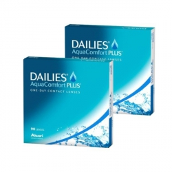 Dailies AquaComfort PLUS 180szt. (2x90szt.)