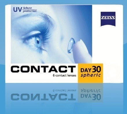 Zeiss Contact Day 30 Spheric 6szt.