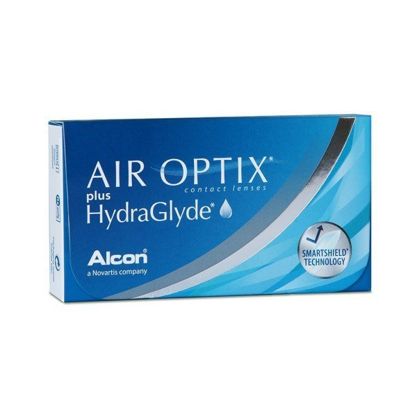 Air Optix Plus Hydraglyde 6 szt. - moce ujemne
