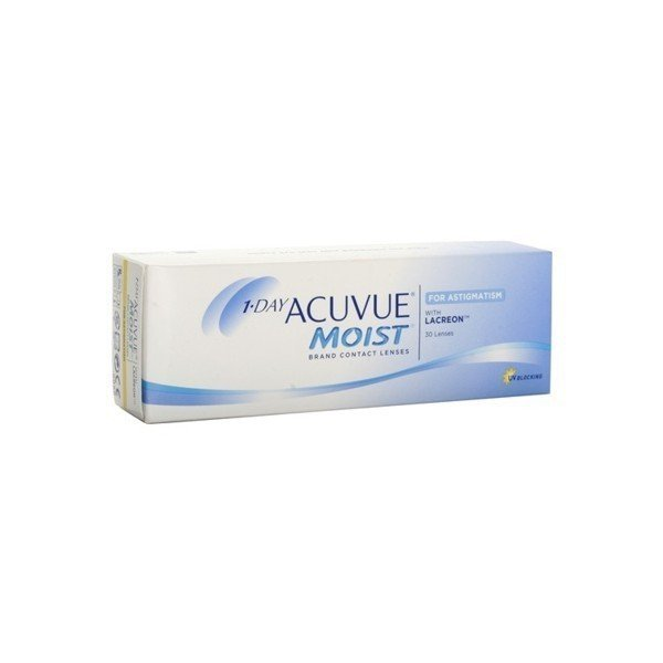 1-Day Acuvue Moist for Astigmatism 1szt. --4.00/-0.75/170
