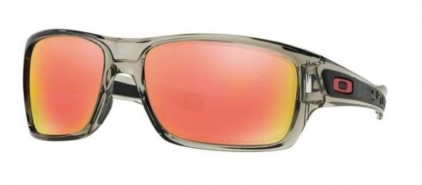 Oakley TURBINE. Grey INK/Ruby Iridium Polarized OO9263-10