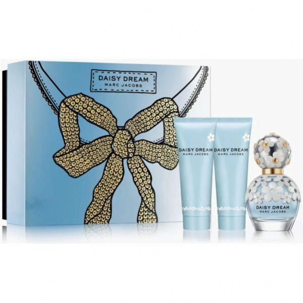 Marc Jacobs Daisy Dream EdT 50 ml + Luminous Body Lotion 75 ml + Uplifting Shower Gel 75 ml