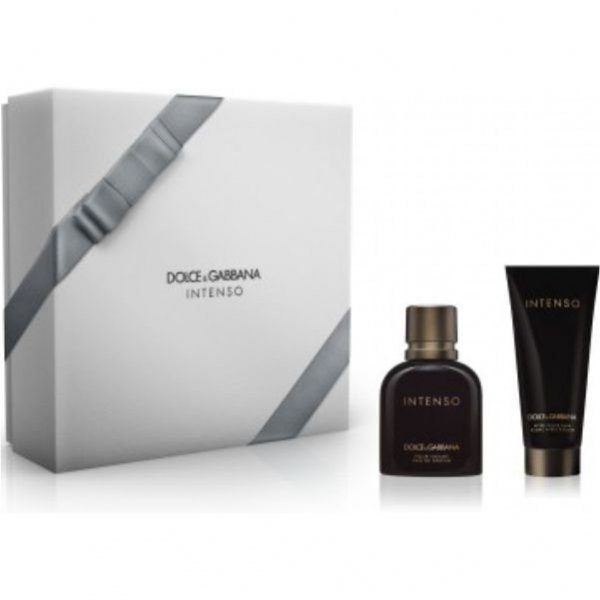 Zestaw Dolce & Gabbana Pour Homme Intenso EdP 75 ml + After Shave Balm 100 ml