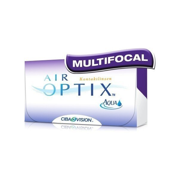 Air Optix Aqua Multifocal - stare opakowanie
