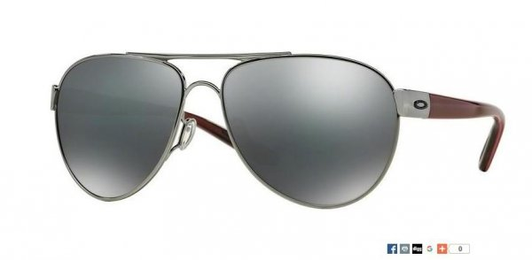 Oakley Disclosure Polished Black Ice/Black iridium OO 4110-03
