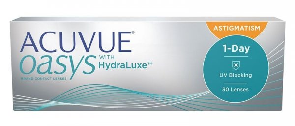 Acuvue Oasys 1 Day for Astigmatism  30szt. -1,25/-1,75/020