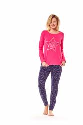 Piżama damska Henderson Moony 36171-42X Różowo-granatowa
