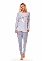 Piżama damska Henderson Mimi 36160-09X Szara