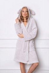 Szlafrok damski Aruelle Bunny Grey