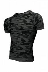 Koszulka męska Thermo Active Military Style krótki rękaw grafit Sesto Senso WYSYŁKA 24H
