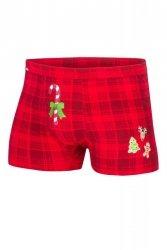 Bokserki Cornette Merry Christmas Candy Cane 017/42