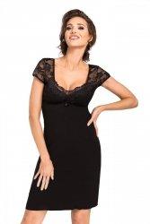 Koszula nocna Brigitte czarna Donna WYSYŁKA 24H