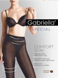 Rajstopy Gabriella Comfort 3D 400 50 den 5-XL