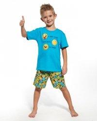 Piżama chłopięca Cornette Kids Boy 789/63 Smile kr/r