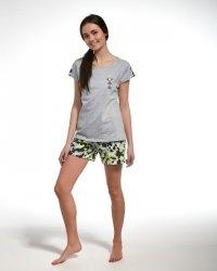 Piżama dziewczęca Cornette F&Y Girl 277/31 Camo kr/r 164-176