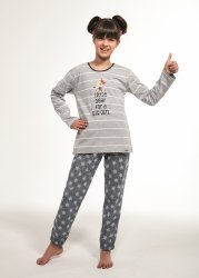 Piżama dziewczęca Cornette Kids Girl 974/112 Little Bear dł/r 86-128