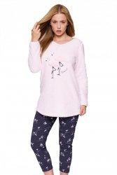 Piżama damska Bluza Soft Flaming + Legginsy Sensis WYSYŁKA 24H